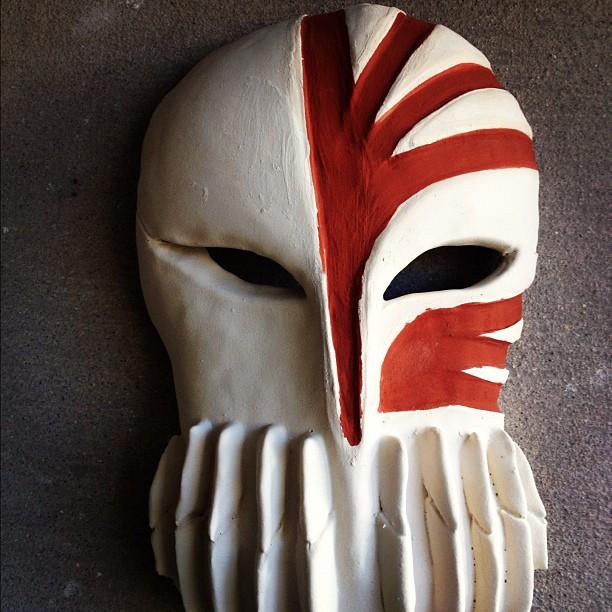 Bleach Hollow Mask (Ichigos) By Guzzyguz56 On DeviantArt