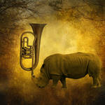 Blowing your own horn