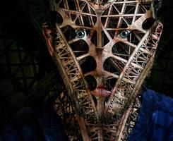 face mask (self-portrait)