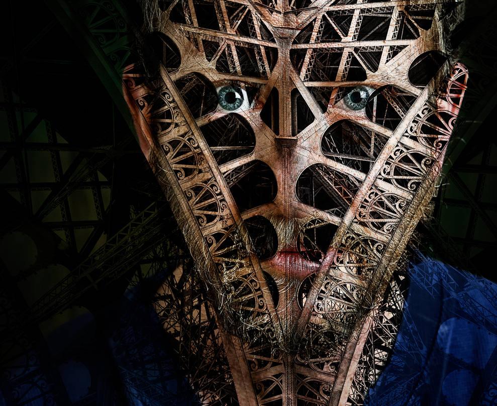 face mask (self-portrait) by davidrabin