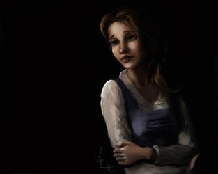 Belle Misses Her Papa by Biro-boi