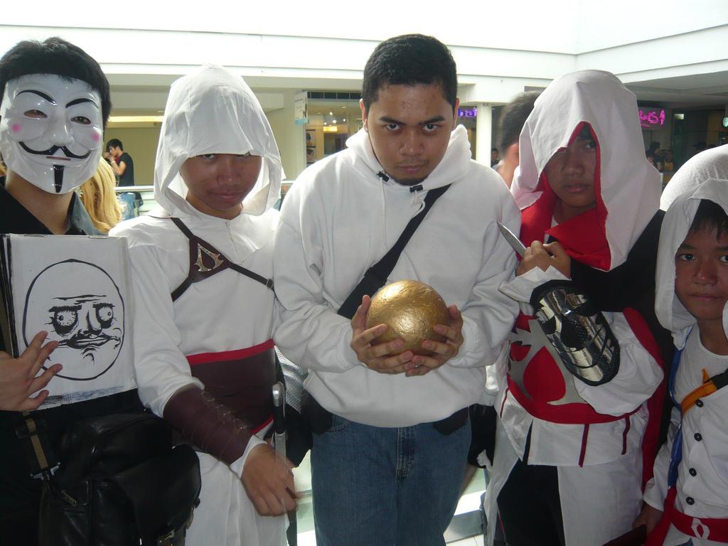 Altair  Desmond  Ezio  Connor by thereanimatedunknownConnor And Ezio