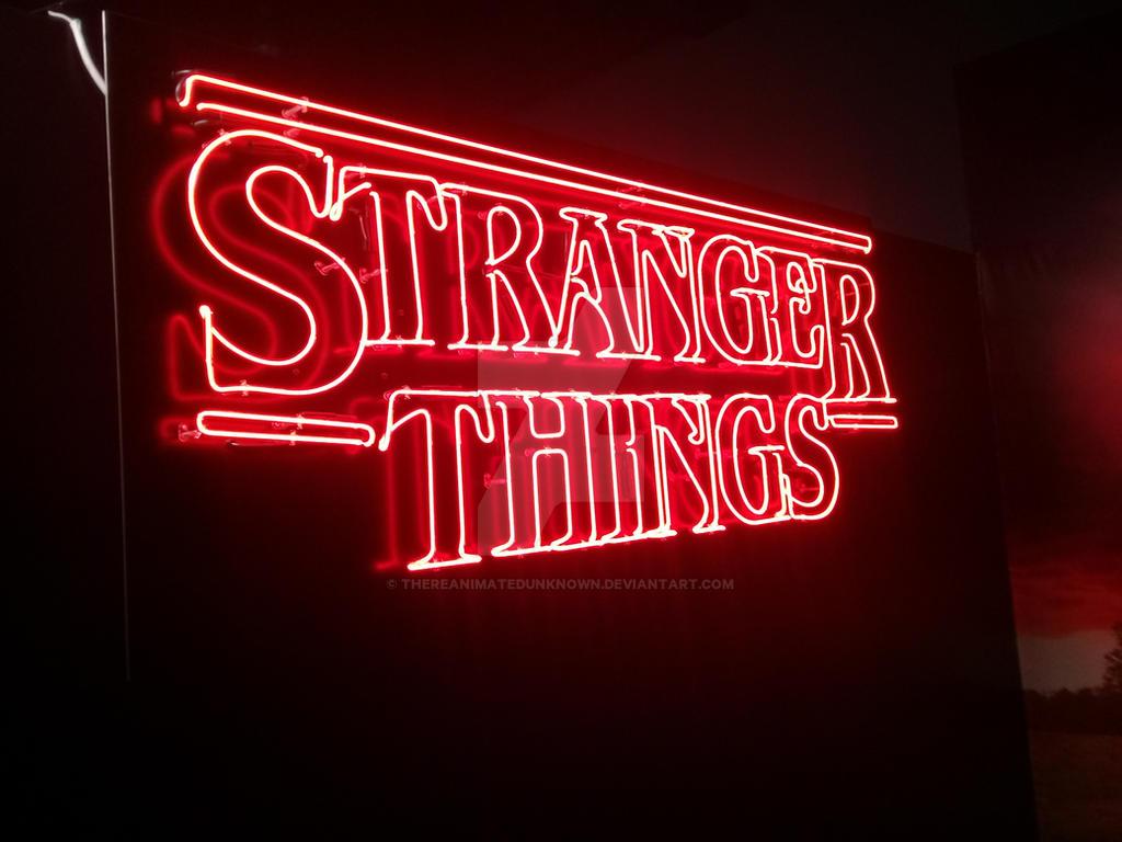 Stranger Things logo by thereanimatedunknown on DeviantArt