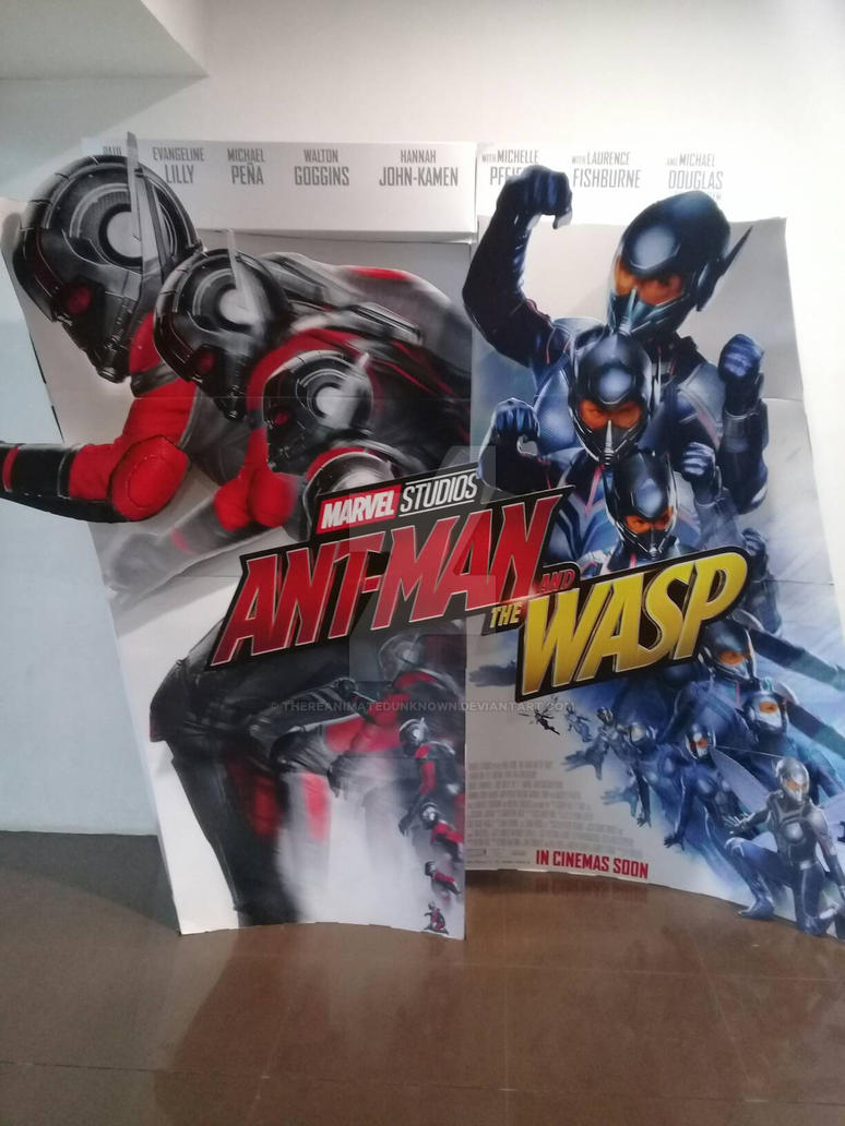 Ant Man And The Wasp Poster Standee By Thereanimatedunknown On