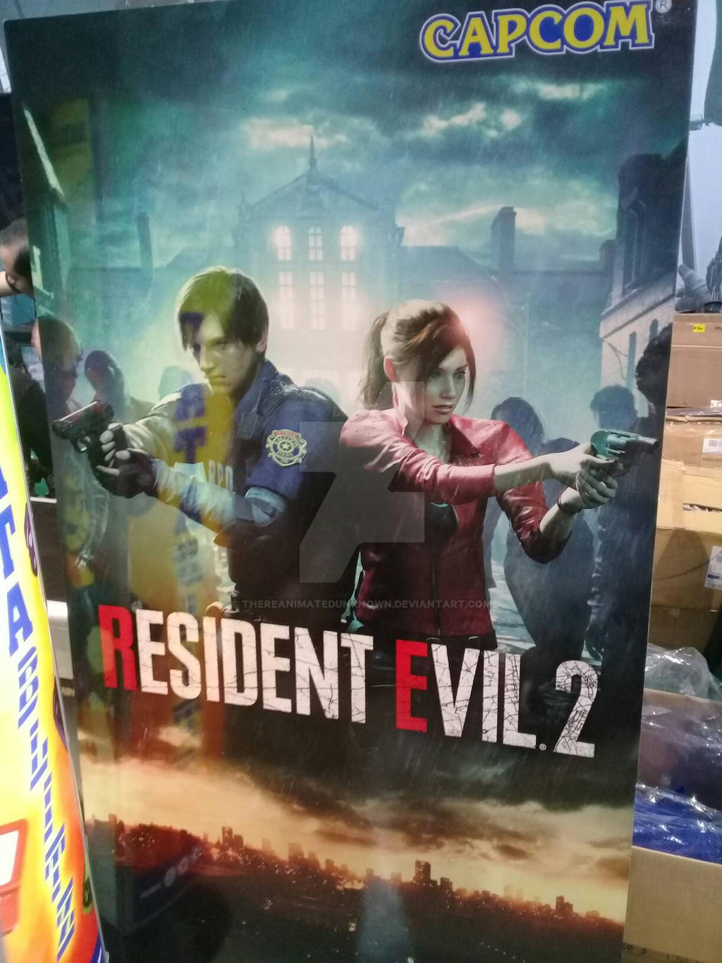 Resident Evil 2 Remake Poster Standee By Thereanimatedunknown On Deviantart