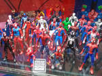Spider-Man action figure set by thereanimatedunknown