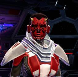 Sith-assassin Tuk'assesh Barr by PadawanSerg