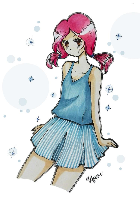 Girl 3 by umikohoshi