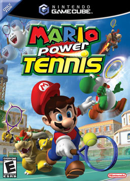 Mario Power Tennis box by DomingoRD