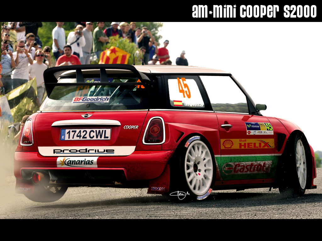 AM mini cooper rally car by adrianmolina on DeviantArt