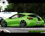 AM-Renault Megane 'SHOWCAR'