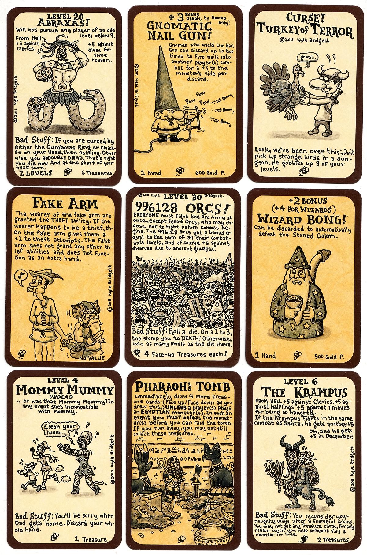 2011 Munchkin cards 2 by goodbunny2000