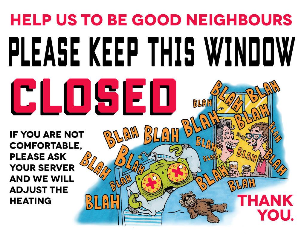 Mezzanine Window Warning by goodbunny2000