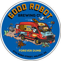 Good Robot Van Sticker