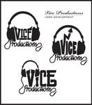 Vice Productions logo design