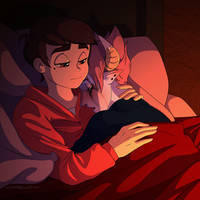 Angsty Cuddles- Tomco