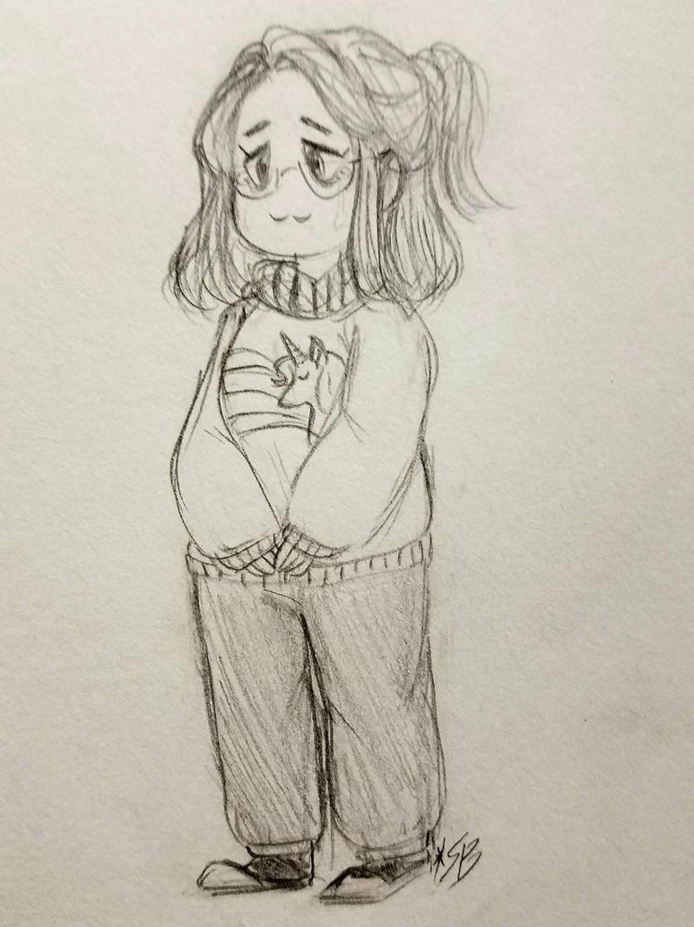 Tiny Martha (sketch) by Scribblebun
