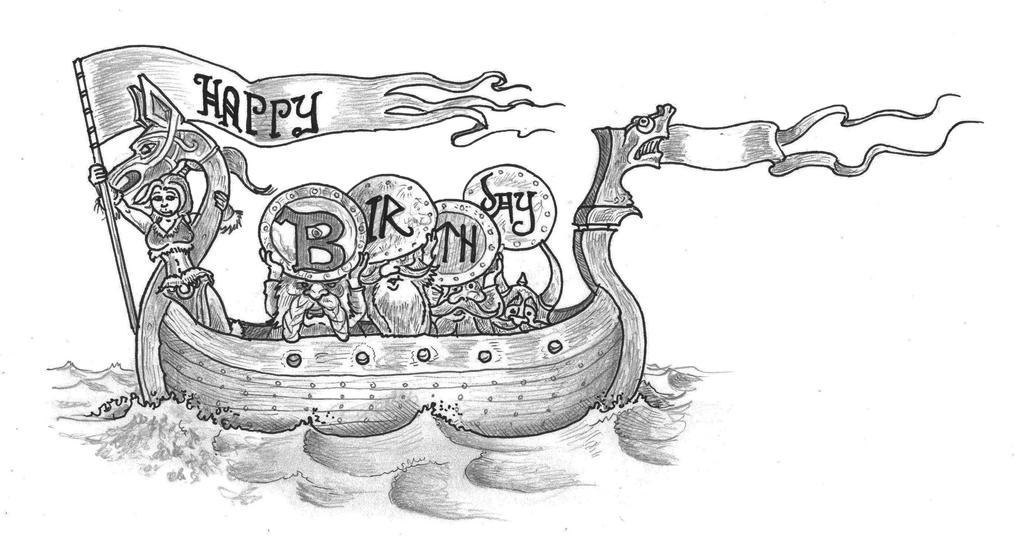 Поздравления викингов с днем рождения 91