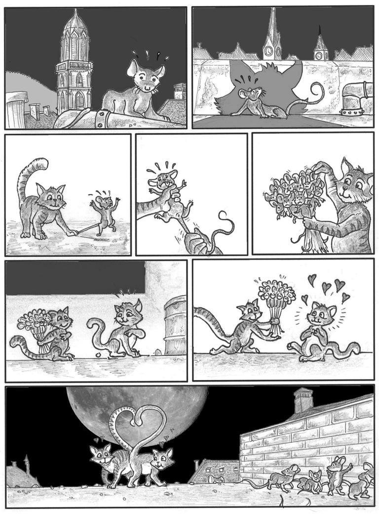 A Cat's love story by alexine-pankhurst
