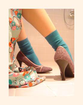 Never Shower In High Heels