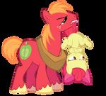 Big Mac and Applebloom