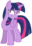 Twilight Sparkle is nervous