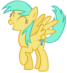 Sunshower Raindrops is happy