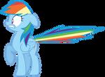 Scared rainbow dash