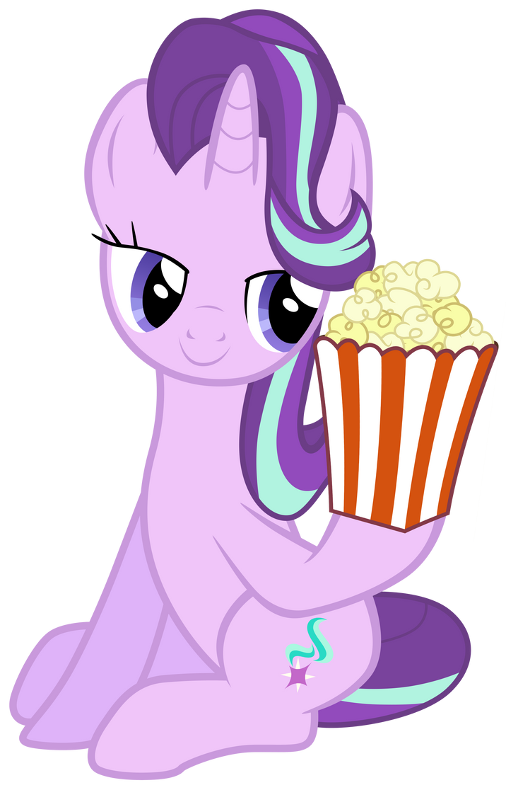 starlight_glimmer_takes_popcorn_by_tardifice-d9wrows.png