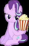 Starlight Glimmer takes popcorn