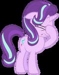 Starlight Glimmer face-hoofs