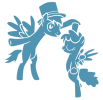 The phantom ponies dancing by Tardifice