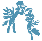 The phantom ponies dancing