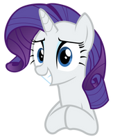 Rarity smiles by Tardifice