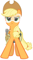 Applejack ready to save the day
