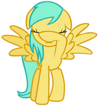 Sunshower Raindrops is embarrassed