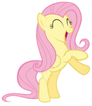 Fluttershy pleased with herself