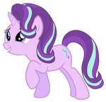 Starlight smiles at Sunburst