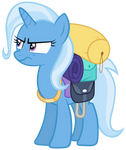 Trixie is not amused