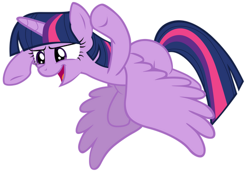 Twilight Sparkle pretends to be a bear