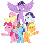 Mane Six finish singing Best Friends Until the End