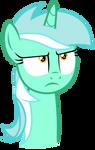 Lyra is not amused