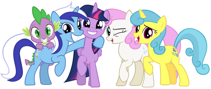 Twilight and her old friends