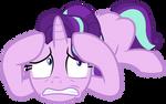 Starlight helplessly listens to Celestia and Luna