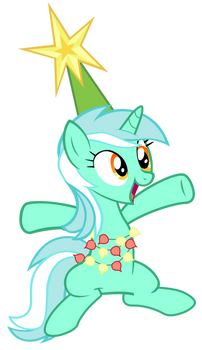 Lyra on the tree
