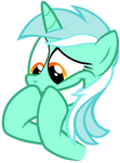 Lyra holding in her excitement