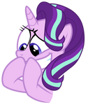 Starlight holding in her excitement