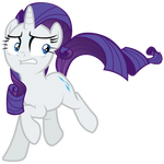 Rarity evades Sombrafied friendship students by Tardifice
