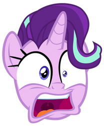 Starlight Glimmer startled by Cozy Glow
