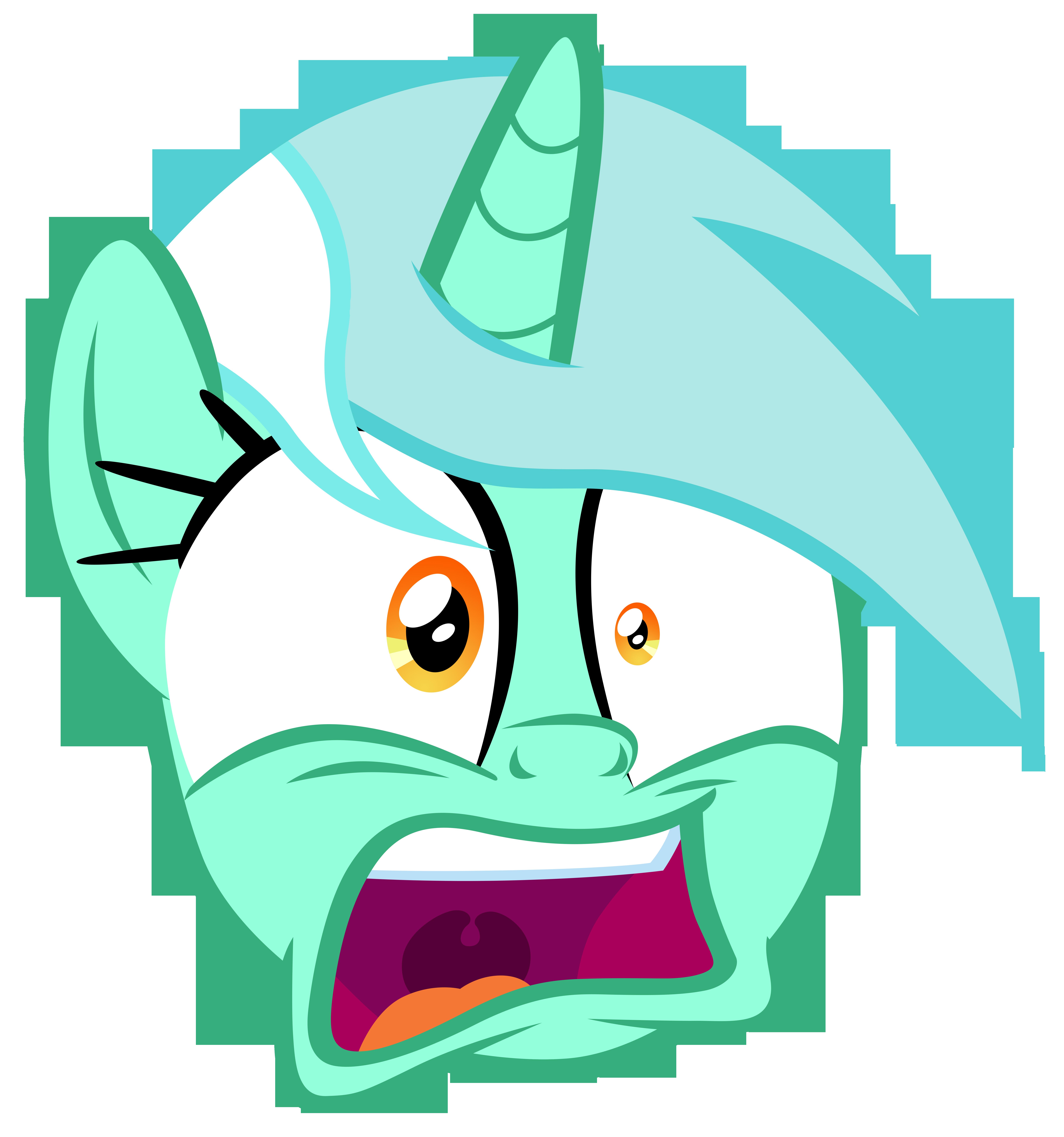Lyra startled by Cozy Glow